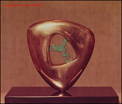 Triton in Bronze